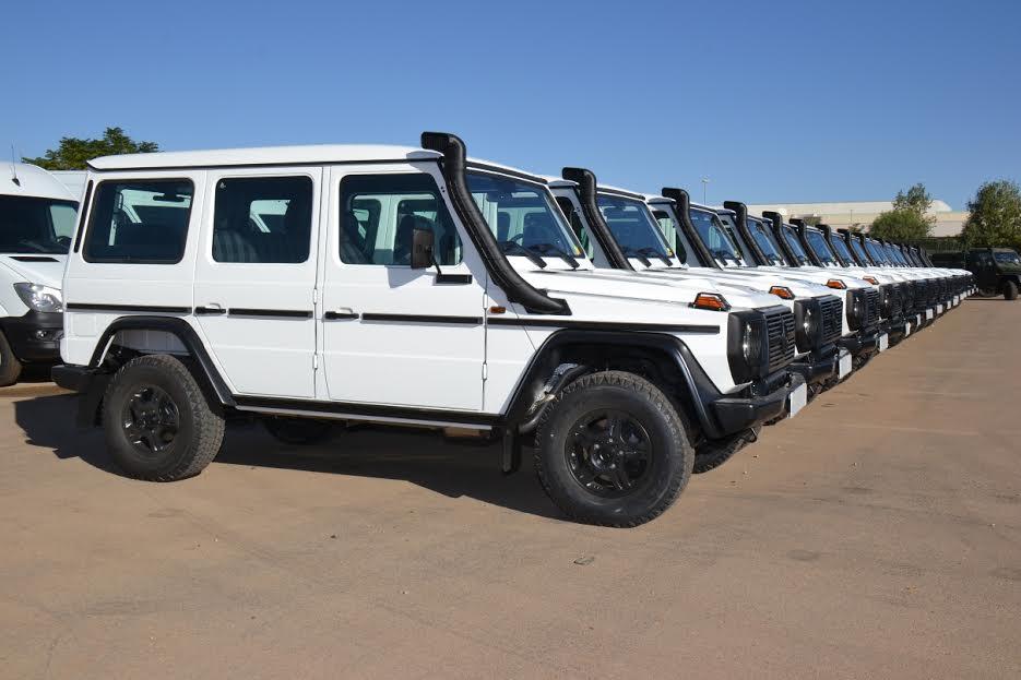 سيارات مرسيدس - إنتاج الجيش الجزائري