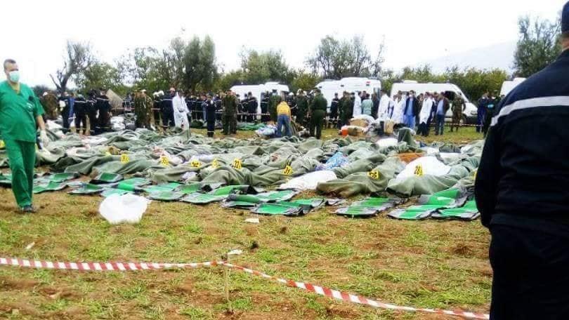 شهداء حادث تحطم الطائرة ببوفاريك
