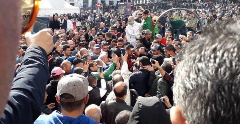 سيول بشرية في العاصمة الجزائر ضد العهدة الخامسة - 1مارس 2019