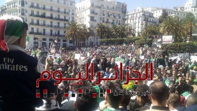 مسيرة العاصمة الجزائر ضد التمديد - الجمعة 15 مارس - صورة الجزائر اليوم
